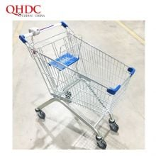 Euro 100L Supermarket Shopping Trolley Cart With Child Seat Price