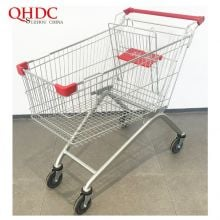 150L Best Grocery Euro Shopping Cart Supermarket Trolleys With High Quality