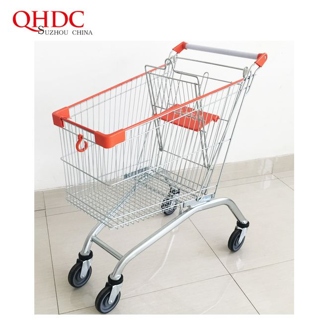 Shopping Trolley Grocery 115L Shopping Cart For Sale