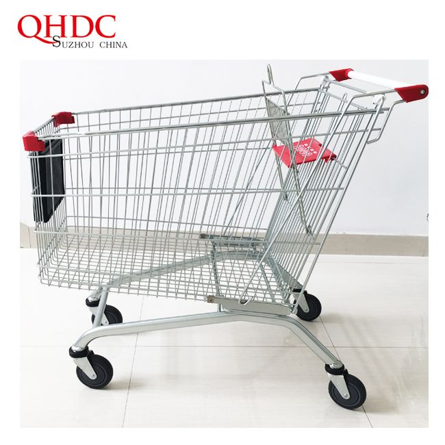 240L Wholesale Big Shopping Trolley Grocery Cart With Good Price