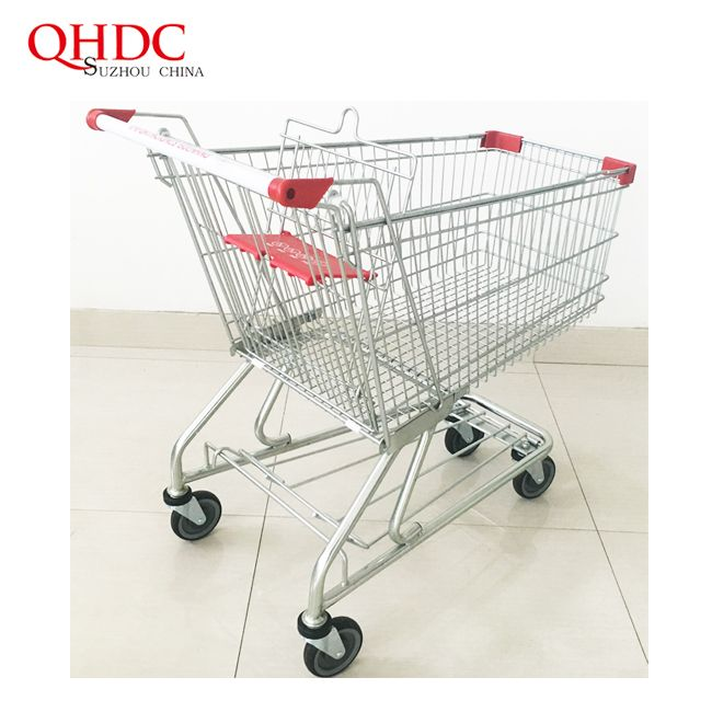 Supermarket Carts Wholesale Shopping Trolleys With 4 Wheels