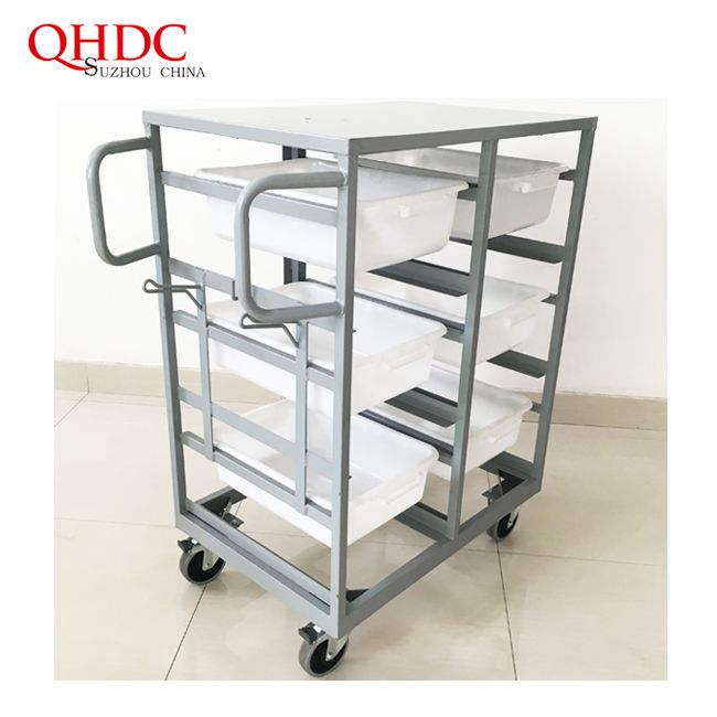 Supermarket Cargo Trolly Tally Cart With High Quality