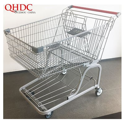 Correct Use of American Style Shopping Trolley And Shopping Basket